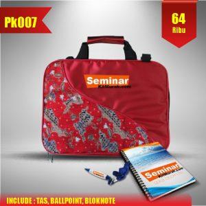 Aprilian Tas Paket Seminar Kit Murah PK007