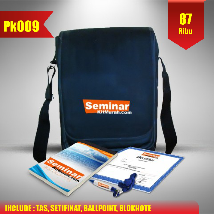 Aprilian Tas pesan paket seminar kit murah jogja pk009