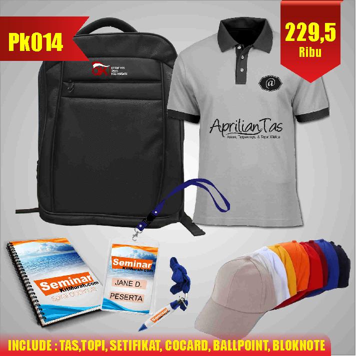 Aprilian Tas pesan paket seminar kit murah jogja pk014