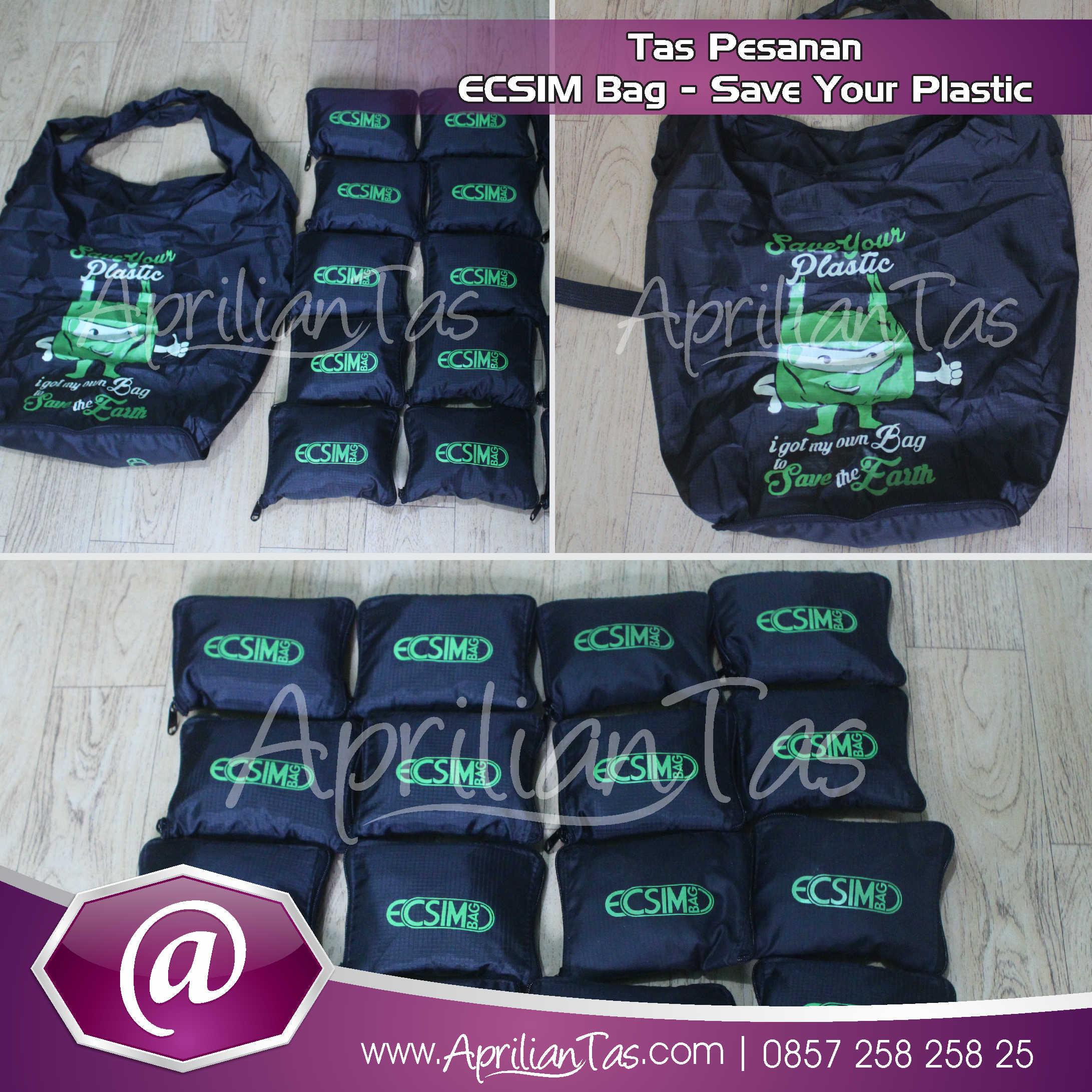 Tas Seminar Pesanan ECISM Bag – Save Your Plastic