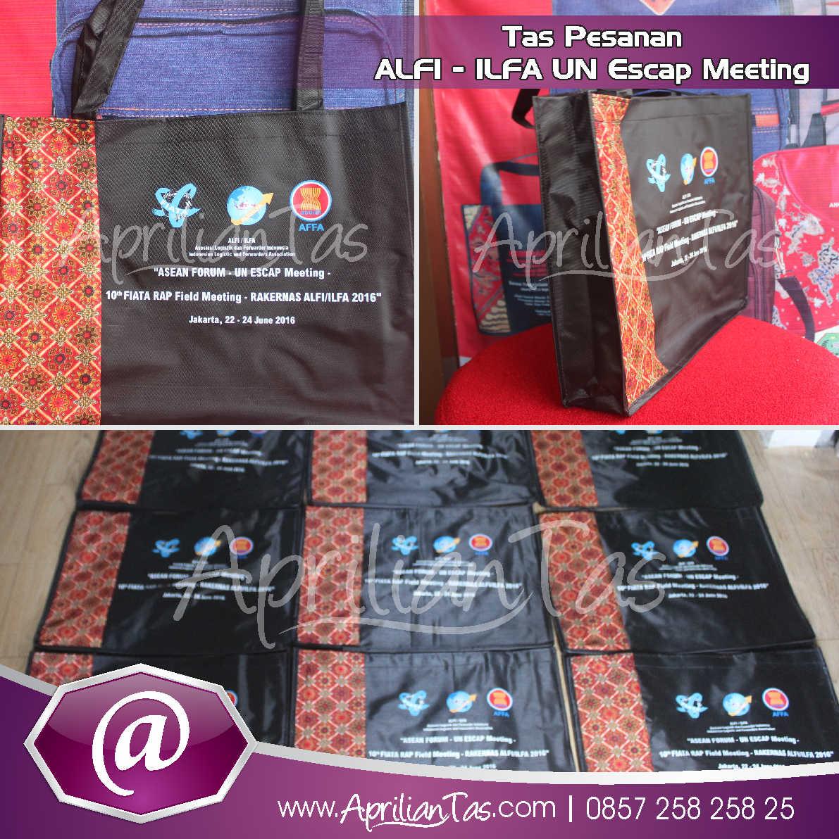 Tas Seminar Pesanan ALFI – ILFA UN Escap Meeting Jakarta