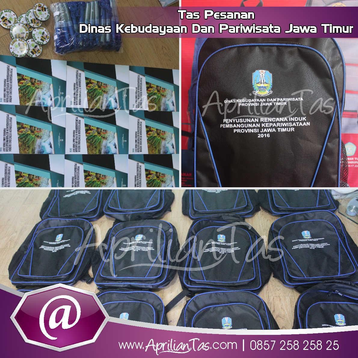 Tas Seminar Pesanan Dinas Pariwisata dan kebudayaan Jawa Timur