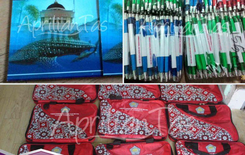 Tas Seminar Pesanan Sidang Pleno ISEI Gorontalo Terima kasih kepada bapak Amir dari ISEI Gorontalo yang telah mempercayakan pemesanan tas seminar kepada kami, kami Aprilian Tas,produsen tas seminar dan konveksi tas seminar terbesar dan terpercaya yang berlokasi di Yogyakarta, menerima pemesanan tas seminar dalam jumlah banyak di Seluruh indonesia. kami menerima pemesanan tas custom, yang […]