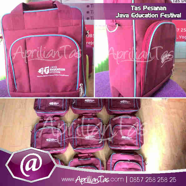 Tas Seminar Pesanan Java Education Festival