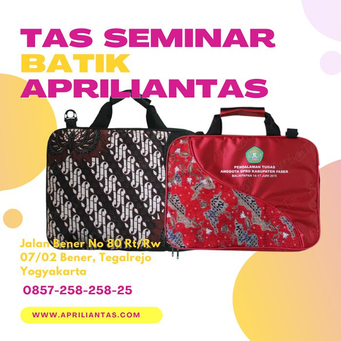tas seminar batik Apriliantas