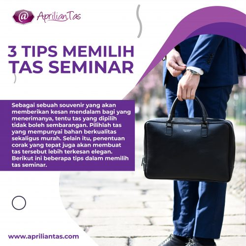 konveksi tas seminar kit murah jogja 3 TIPS MEMILIH TAS-01