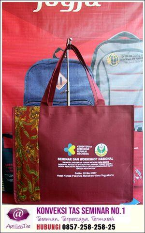 Tas Seminar Jogja Pesanan Customers Apriliantas.com