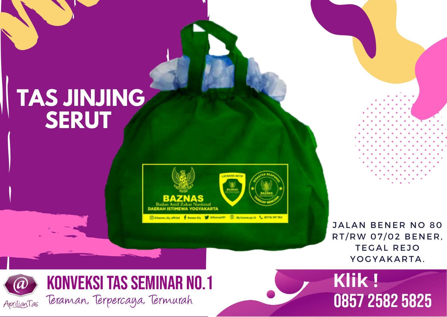 Tas Jinjing Pesanan Baznas DI Yogyakarta di Grosir Tas Jogja