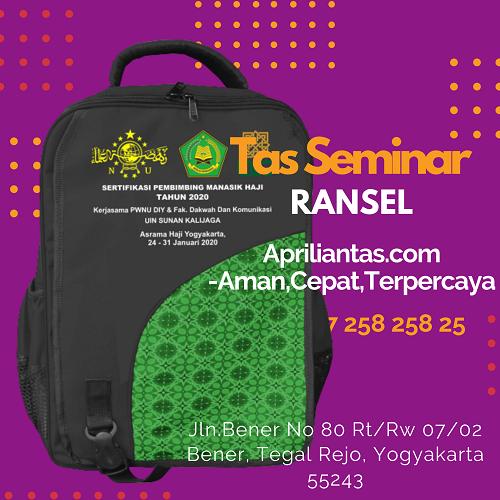 Model Tas Seminar Souvenir Tas Seminar Asrama Haji Yogyakarta