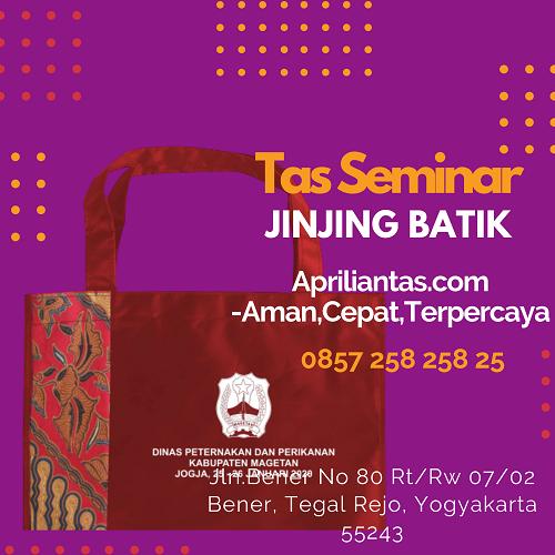 Desain Tas Seminar Kit DINAKIKAN Kabupaten Magetan