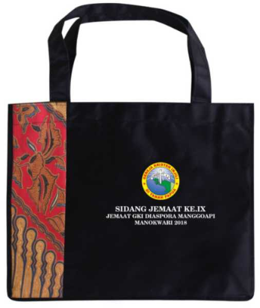 Gereja - Pesanan Tas Seminar Tanah Papua Raker