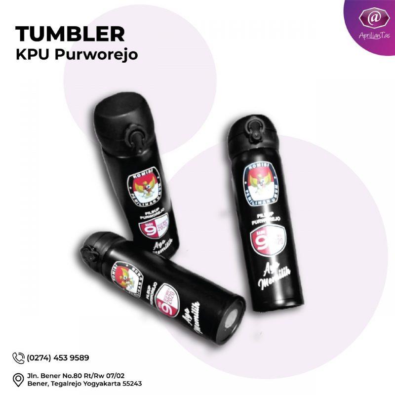 KPU Purworejo Bu Yeti - pesan seminar kit tumbler medan
