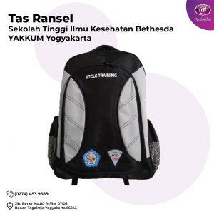 Sekolah Tinggi Ilmu kesehatan Bethesda Yakkum Yogyakarta- Bu Pudji- Produsen tas seminar medan