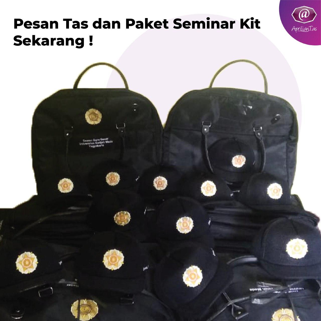 Tas Toga dewan guru besar UGM Yogyakarta - konveksi tas seminar medan