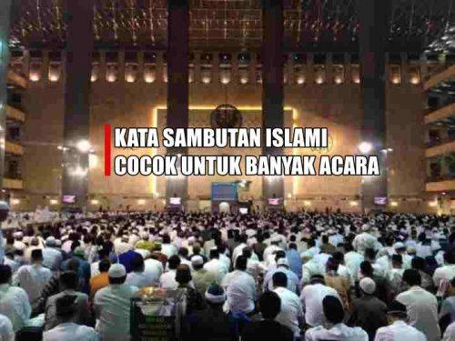 Foto Sambutan Ceramah Aprilian Tas Seminar Murah