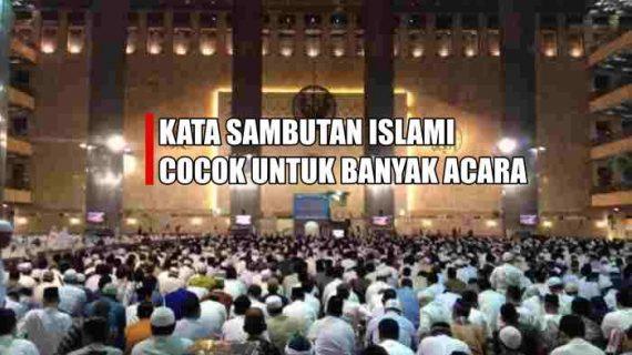 Kata Sambutan Islami