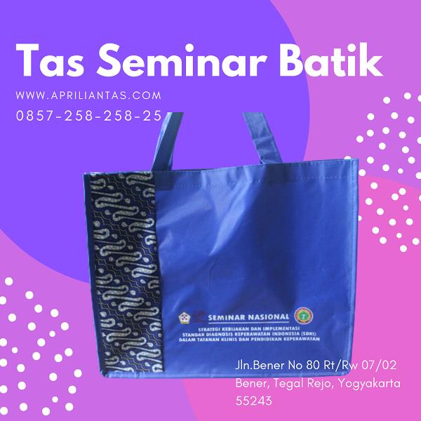 gambar tas seminar batik