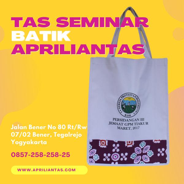 konveksi tas seminar batik