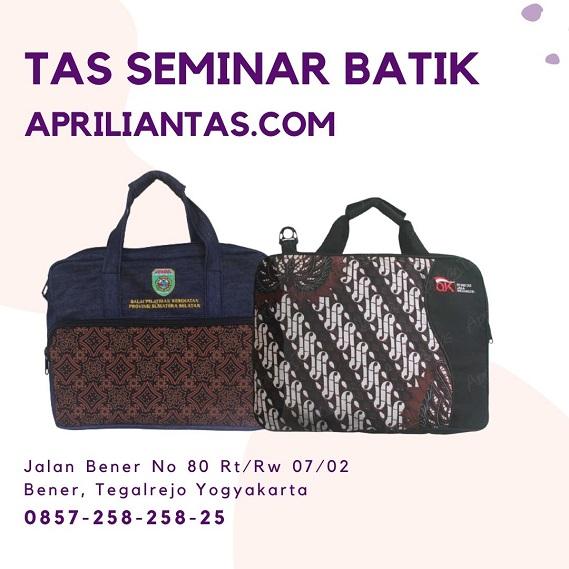Tas Seminar Batik Jakarta Konveksi Dan Produsen Seminar kit Apriliantas
