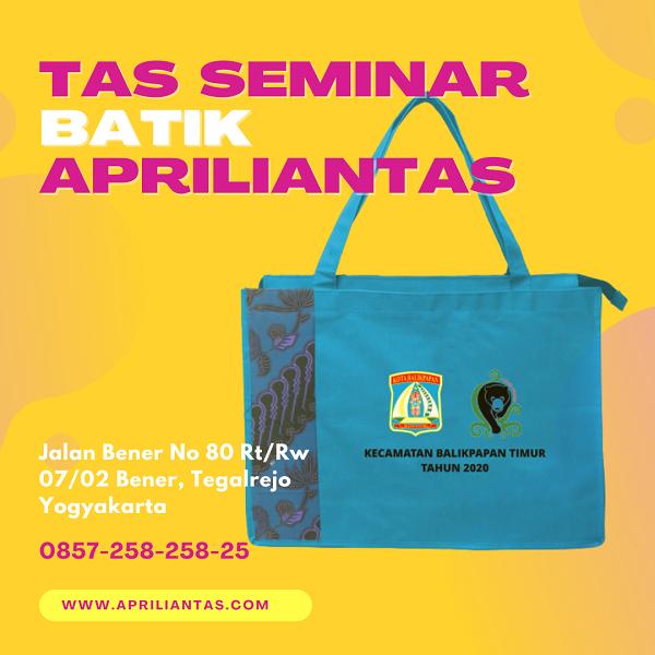 Pabrik Tas Seminar Batik Apriliantas.com. Tempat Produski Tas Seminar
