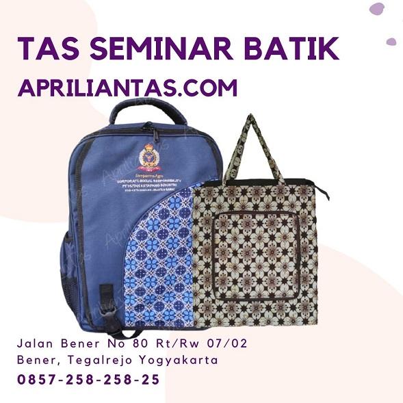 produsen tas seminar batik