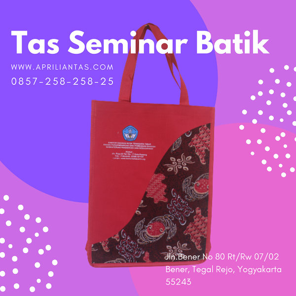 produsen tas seminar batik jakarta