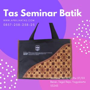 tas batik seminar kit