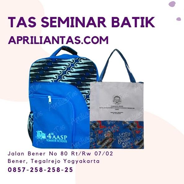 tas seminar batik di jakarta