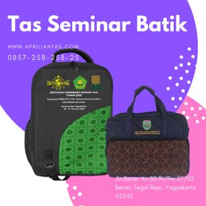 tas seminar batik laptop jogja