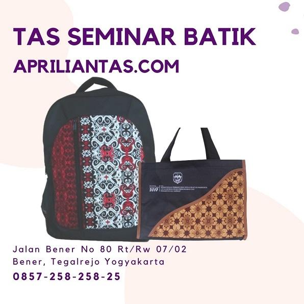 tas seminar batik laptop