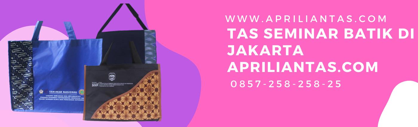 tas seminar batik murah