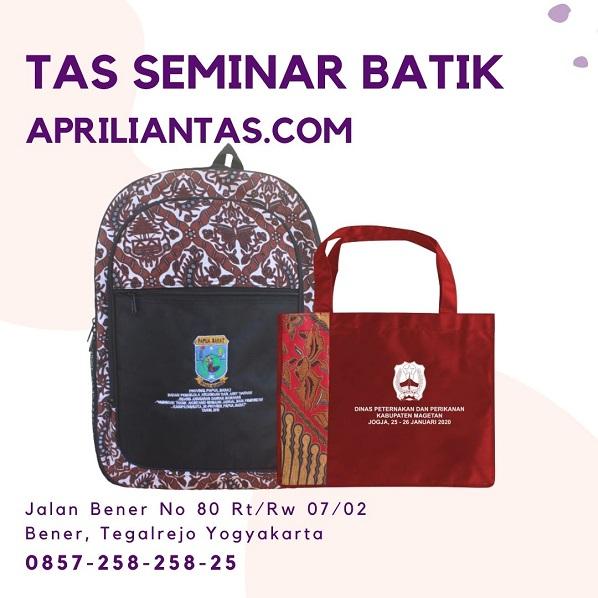 Tas Seminar Batik Murah Jakarta Terbaik Hanya Di Apriliantas.com