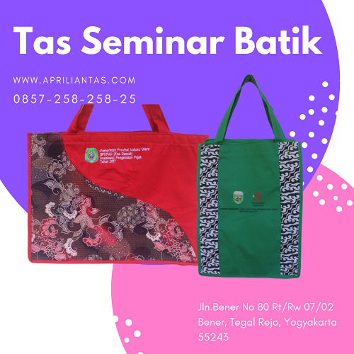 tas seminar batik surabaya