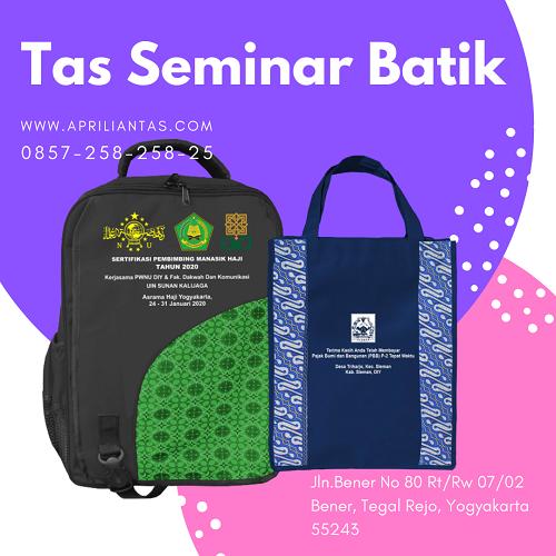 Tas Seminar Kit Batik,Tas Seminar Yang Cocok Untuk Banyak Acara