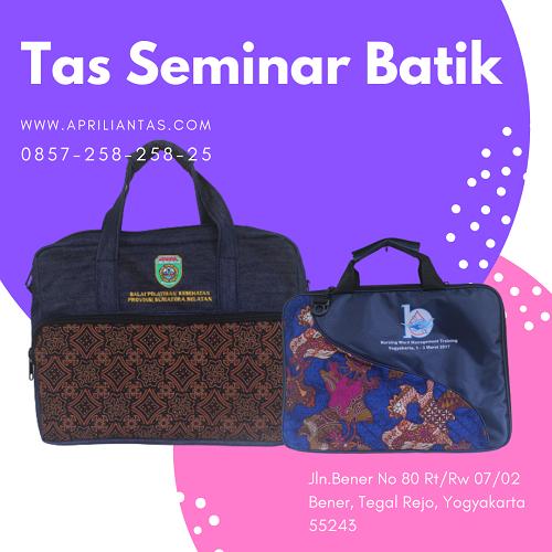 tas seminar kit batik laptop