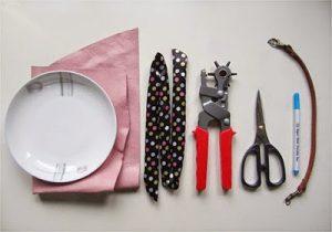 bahan alat pembuatan tas
